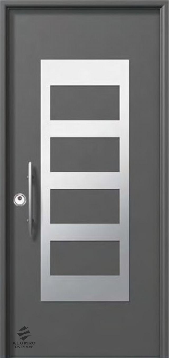 Usi traditionale si de securitate alumro expert sisteme de balustrade - Modelos de puertas de aluminio para exterior ...